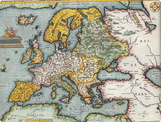 Europe at the of the 1500s